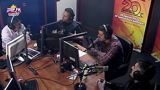 Η ιστορική συνύπαρξη του Ντέμη με τους Κατσουράνη-Λυμπερόπουλο στο στούντιο του ΣΠΟΡ FM! (α' μέρος)