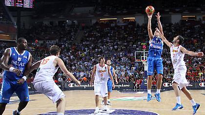 Live: Ελλάδα-Ισπανία 72-80 (Τελικό)