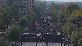 Σχόλια στο twitter για την συγκέντρωση διαμαρτυρίας και τη ματαίωση της παρέλασης