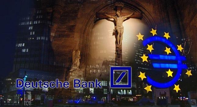 Deutsche Bank: «Μόνο ο Χριστός μπορεί να σώσει την ευρωζώνη»!