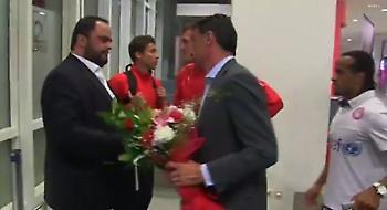 Το βίντεο της υποδοχής Μαρινάκη στην ομάδα