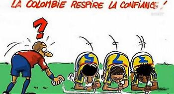 Έξαλλοι οι Κολομβιανοί για ένα… σκίτσο!