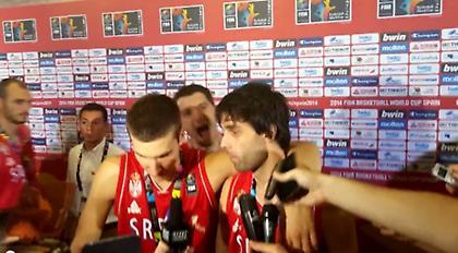 Περήφανος και… τρομαγμένος ο Τεόντοσιτς (video)