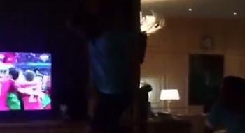 Απίθανο βίντεο: Ο έξαλλος πανηγυρισμός του Λουίς Νέτο στο γκολ του Έντερ