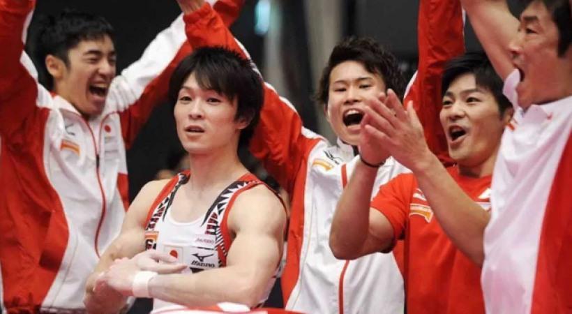 «Χρυσή» η Ιαπωνία στην ενόργανη γυμναστική