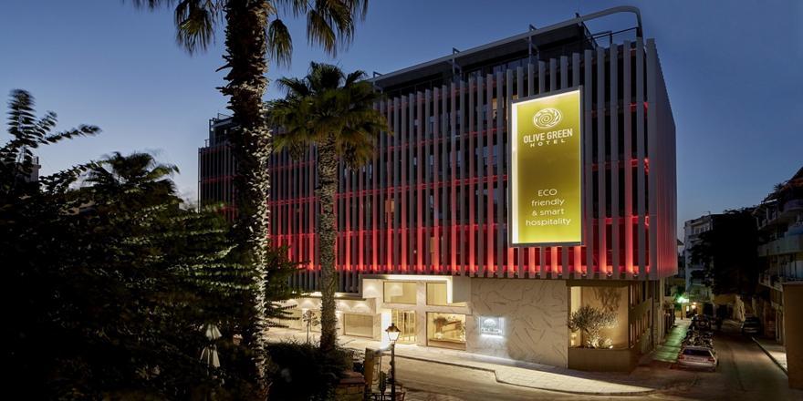 Olive Green Hotel - νέο οικολογικό ξενοδοχείο στο Ηράκλειο (video)