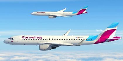 Eurowings: 2 νέες συνδέσεις με Κάρπαθο και Σαντορίνη