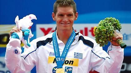 Ο Ολυμπιονίκης Σπύρος Γιαννιώτης βάφτισε το γιο του