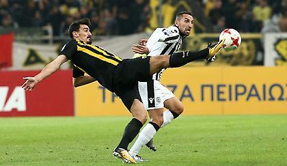 Η ΑΕΚ απαντούσε με ποδόσφαιρο, ο ΠΑΟΚ έχανε την μπάλα!