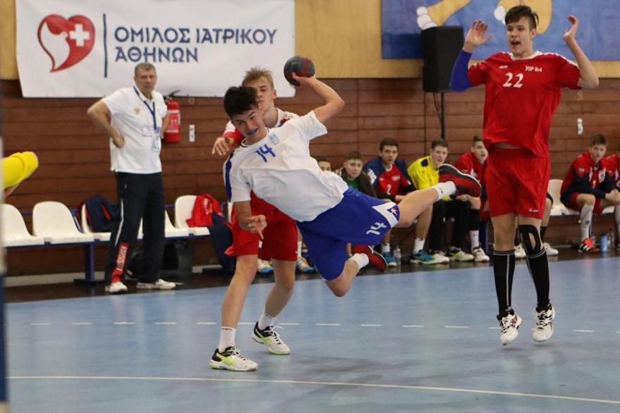 Υπέταξε την Ρωσία η Εθνική Παίδων