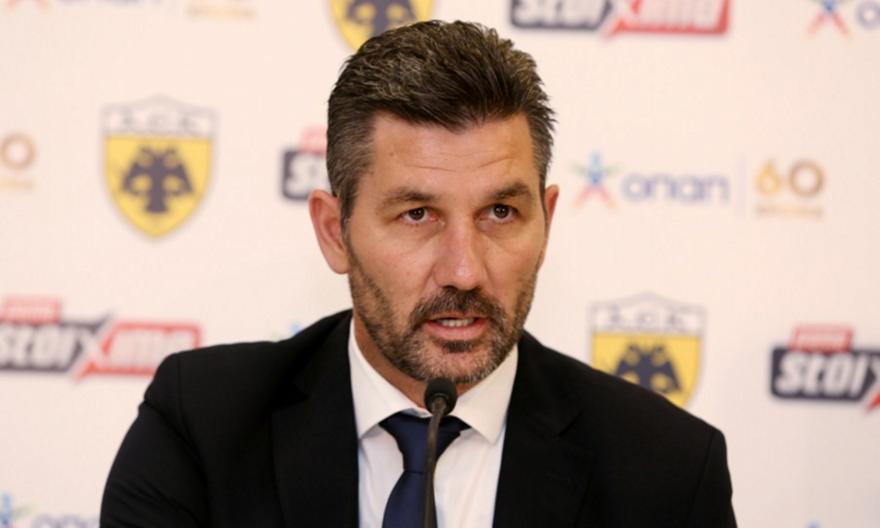 Ουζουνίδης: «Ανερχόμενη δύναμη στο ευρωπαϊκό ποδόσφαιρο η ΑΕΚ»
