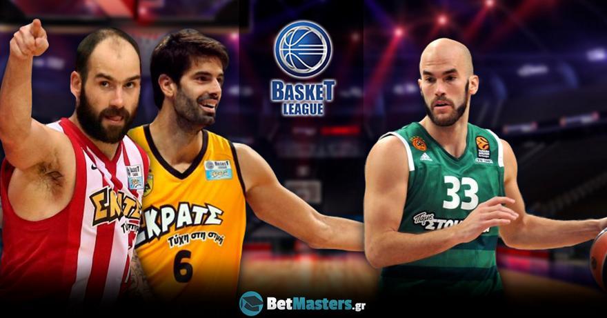 Basket League: Παναθηναϊκός vs Ολυμπιακός σημειώσατε 1