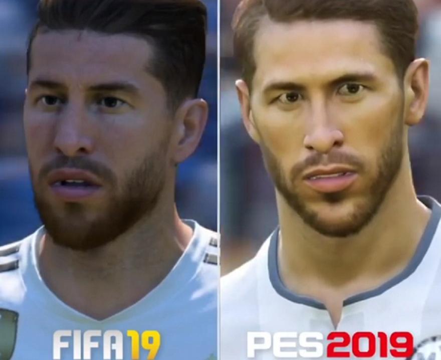 FIFA ή PES: Πώς παρουσιάζουν τους κορυφαίους παίκτες τα δύο games