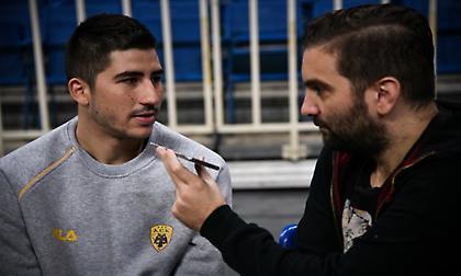 Μωραΐτης στο sportfm.gr: «Στόχος μου είναι να παίξω περισσότερο από πέρσι»