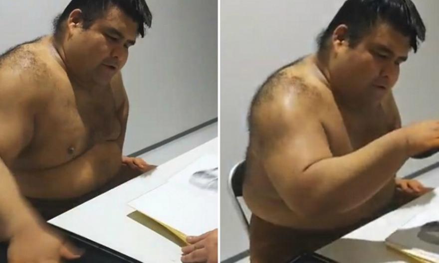 Viral: O απίστευτος τρόπος που υπογράφει αυτόγραφα σταρ του σούμο (video)