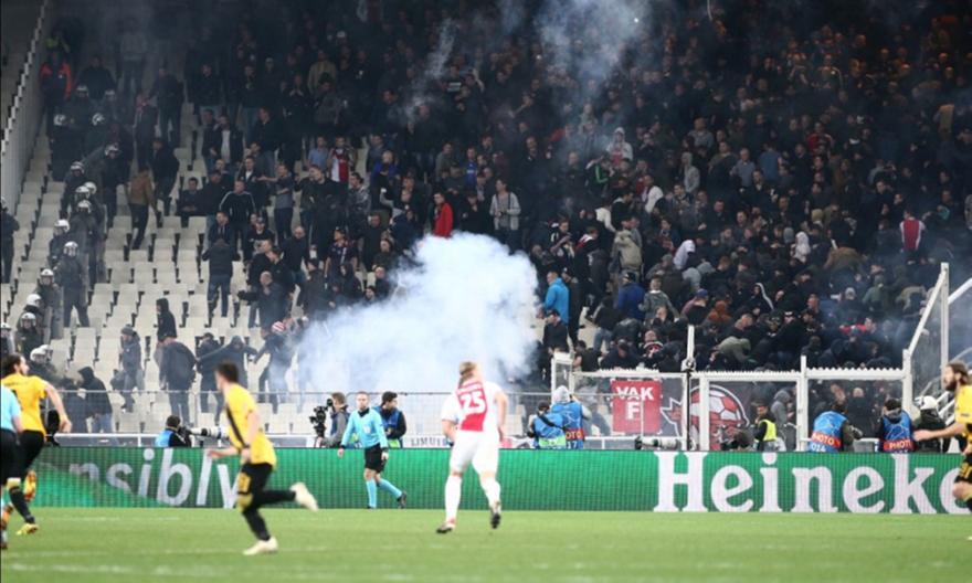 Δεκτό το αίτημα της ΑΕΚ για ακρόαση στην UEFA - Πότε εκδικάζεται η υπόθεση των επεισοδίων με Άγιαξ