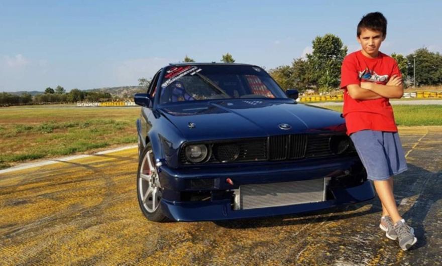Ο νεότερος οδηγός Drift στον κόσμο στo 14ο Motor Festival του ΟΑΚΑ!