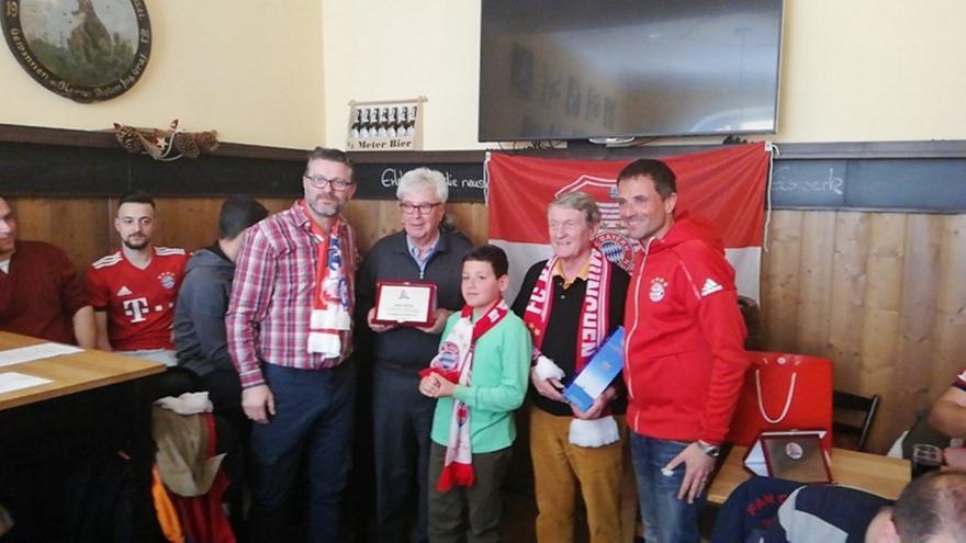 Εκδήλωση και βράβευση του Fc Bayern Fan Club Macedonia - Hellas