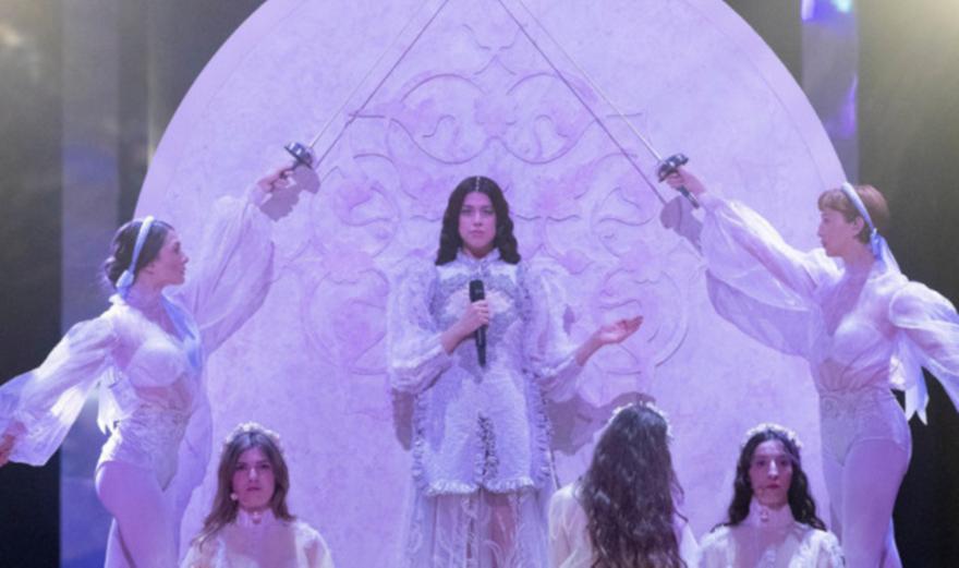 Eurovision 2019: Αέρινη η Κατερίνα Ντούσκα στον τελικό-Εντυπωσίασε με τη φωνή της (video)
