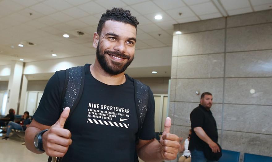 Έφτασε στην Αθήνα ο Σουντανί! (pics)