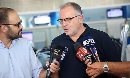 Σκουρτόπουλος: «Τα νέα είναι πολύ ενθαρρυντικά για τον Σλούκα»