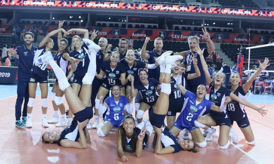 Στην ΕΡΤ τα εναπομείναντα ματς του Ευρωβόλεϊ Γυναικών – Πήρε και το Ανδρών