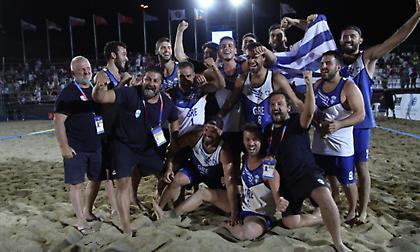 Beach Handball: Έλληνες βασιλιάδες της άμμου!