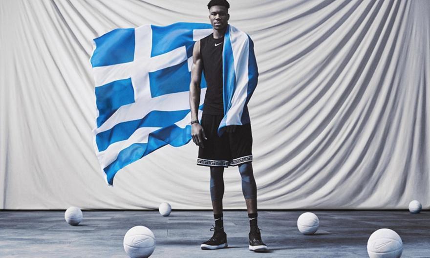 Αφιερωμένα στην Ελλάδα τα παπούτσια του Γιάννη για το Παγκόσμιο!
