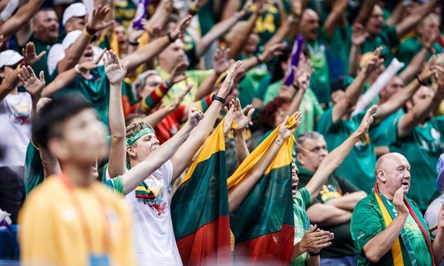 Οπαδοί Λιθουανίας: «F*ck you FIBA»
