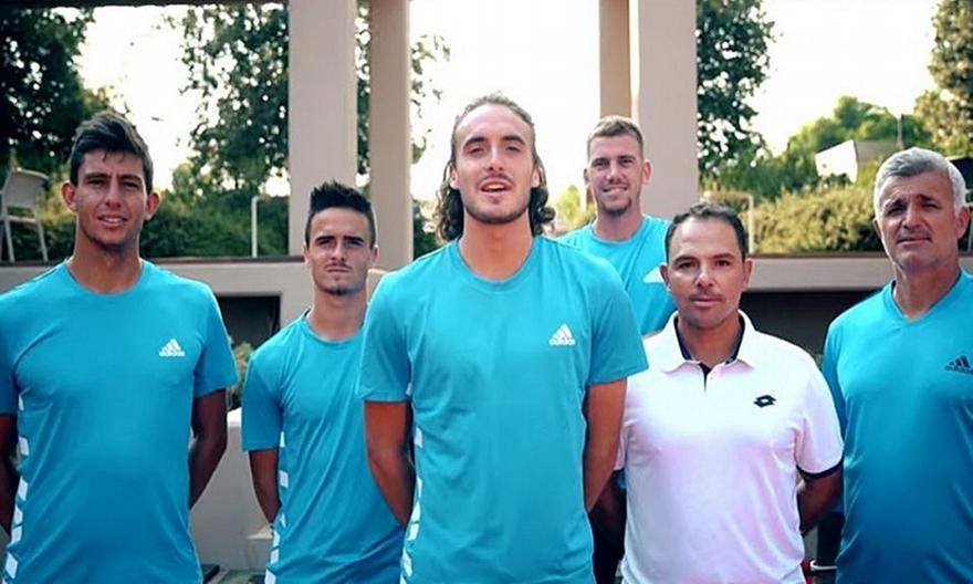 Το πρόγραμμα των αγώνων της Εθνικής στο Davis Cup