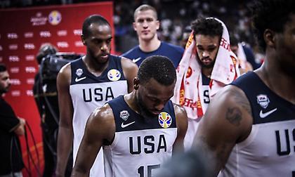 Πρώτη ήττα των ΗΠΑ με NBAers μετά το 2006!