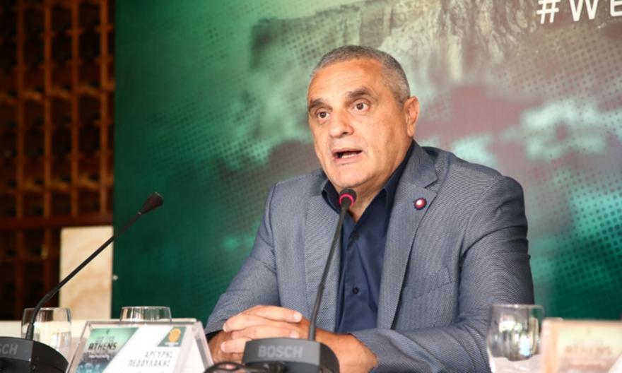 Πεδουλάκης: «Μεγάλη προσπάθεια του Δ. Γιαννακόπουλου να παραμείνει η ομάδα στο κορυφαίο επίπεδο»