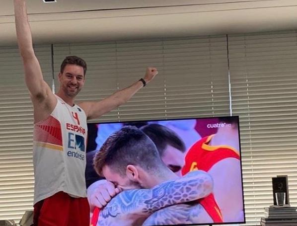 Περήφανος για την Ισπανία και τον Μαρκ ο Πάου Γκασόλ (pics)