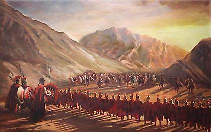 Μάχη των Θερμοπυλών: Οι 700 ηρωικοί Θεσπιείς που αδίκησε η ιστορία για χάρη του Λεωνίδα
