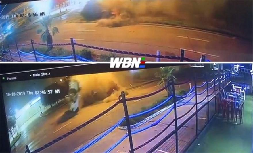 Τρομακτικό αυτοκινητικό για τον πυγμάχο, Έρολ Σπενς Τζούνιορ (video)