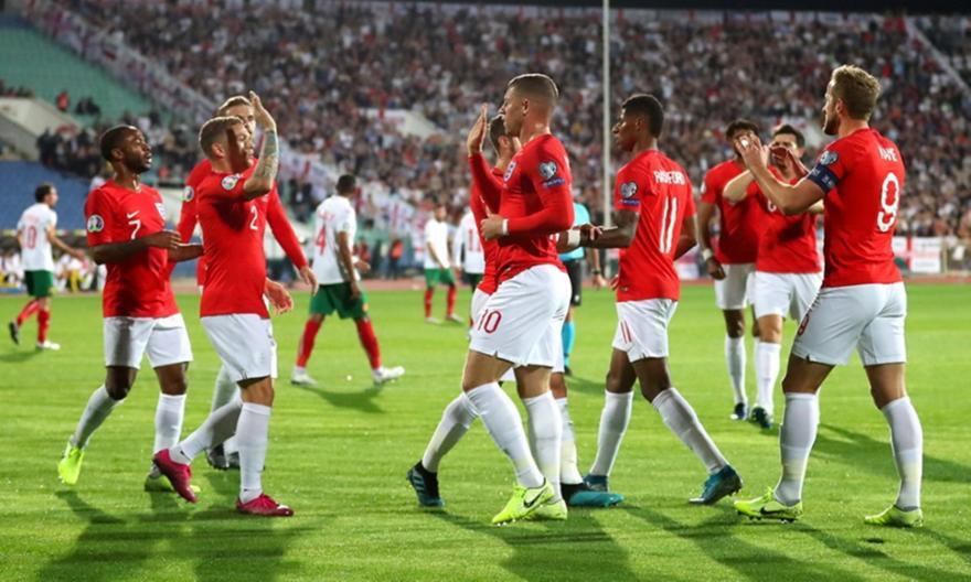 Ασταμάτητη η Αγγλία στη Σόφια, 4-0 με τον Στέρλινγκ (video)