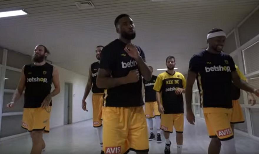 Η παρακάμερα της εντυπωσιακής νίκης της ΑΕΚ επί της Ορτέζ (video)