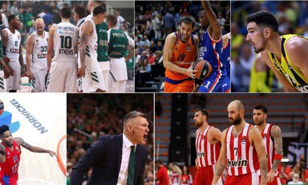 Ευρωλίγκα: Τα 5+1 συμπεράσματα της τρίτης αγωνιστικής! (videos)
