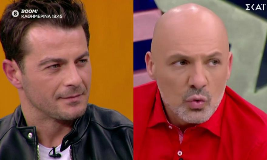 Γιώργος Αγγελόπουλος: Η ατάκα που άφησε άφωνο τον Νίκο Μουτσινά! (video)
