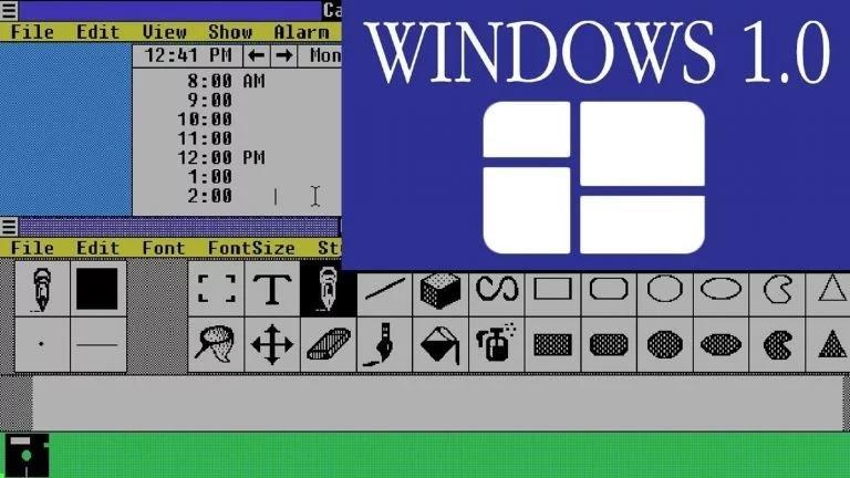 Σαν σήμερα ο Bill Gates παρουσίασε τα windows 1.0 (video)