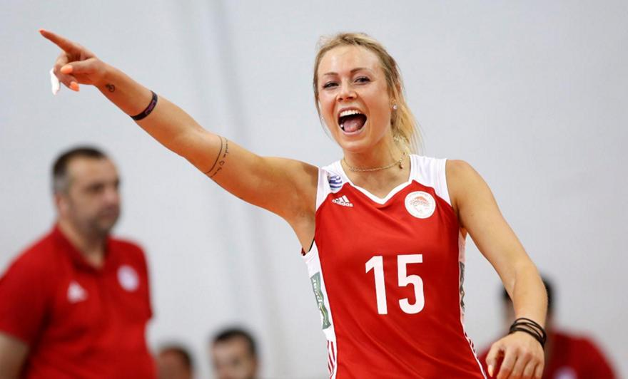 Χίπε στο sport-fm.gr: «Είμαι υπερήφανη για το τρίτο σετ, στόχος μου να βοηθάω όσο περισσότερο μπορώ»