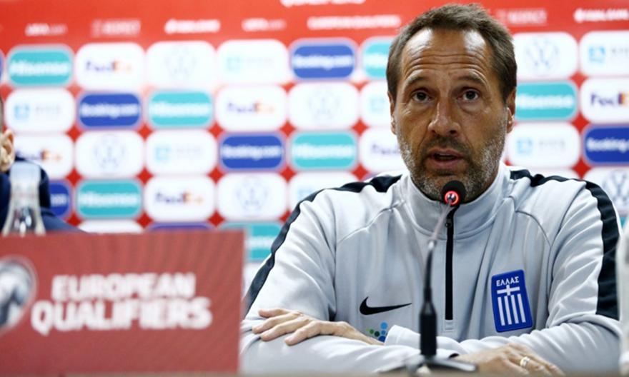 Φαν'τ Σιπ: «Να είναι η Εθνική έτοιμη για το Nations League»