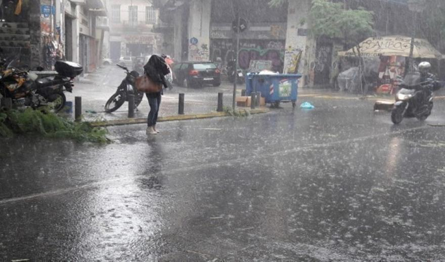 Διαδοχικά κύματα βροχών και καταιγίδων στη χώρα τις επόμενες ημέρες