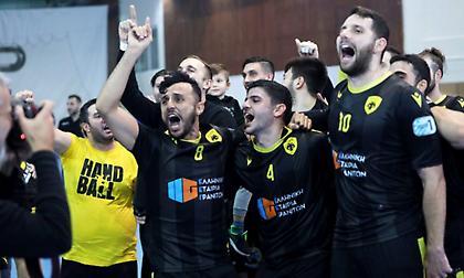 Με Ντράμεν η ΑΕΚ στο Challenge Cup χάντμπολ