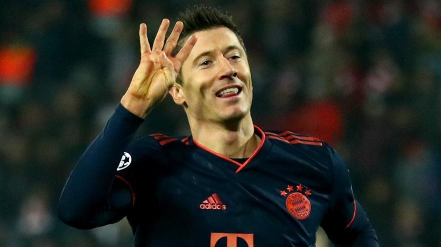 Παίκτης της εβδομάδας στο Champions League ο Λεβαντόφσκι