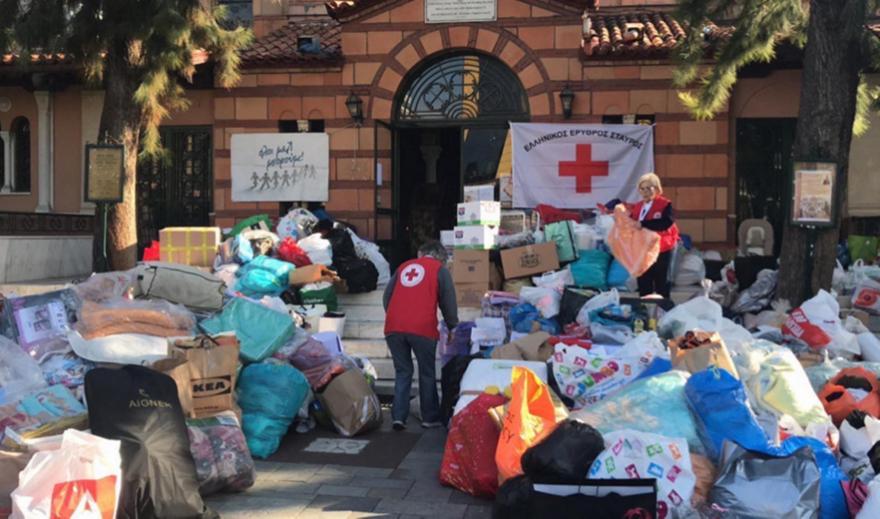 «Όλοι μαζί μπορούμε για την Αλβανία»: Συγκεντρώθηκαν τουλάχιστον 200 τόνοι ειδών πρώτης ανάγκης