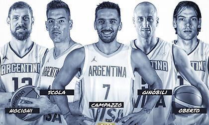 Ανακοινώθηκε η κορυφαία πεντάδα της Αργεντινής της δεκαετίας