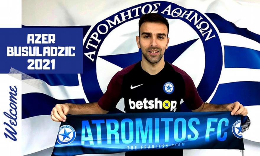 Ανακοίνωσε την επιστροφή του Μπουσούλατζιτς ο Ατρόμητος