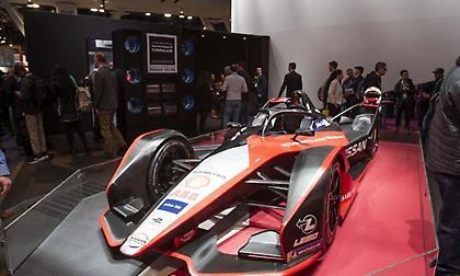Ο προσομοιωτής της Nissan Formula E στην CES