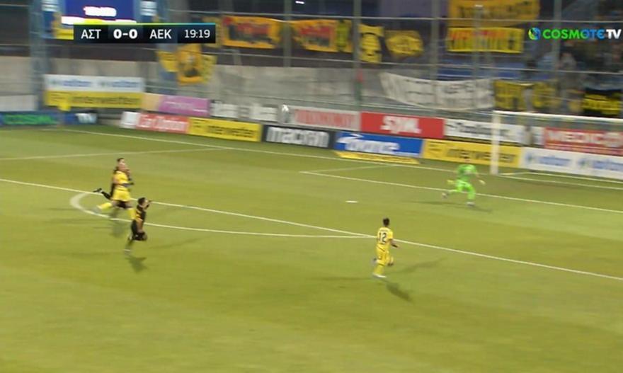 Τα highlights του Αστέρας Τρίπολης-ΑΕΚ
